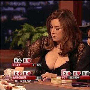 Jennifer Tilly and poker